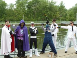 Danny Phantom Cosplay Group (2) by KingTauros
