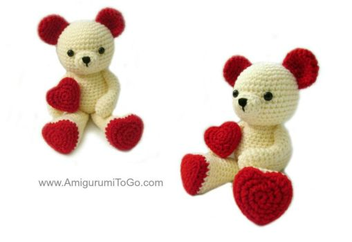 Amigurumi Big Heart : Amigurumi Knitting and Crochet on Pattern-Depot - DeviantArt