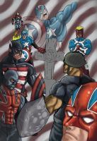 captain americas by WTK