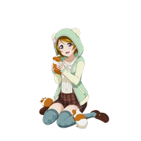 [#Render] Pana hamster by Kaicchii