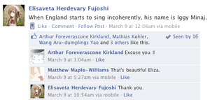 Hetalia Facebook: Singing Iggy by gilxoz-epicness