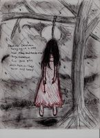 Hanging girl by angelthanatos