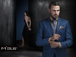 M suit advert campaign by SOOO