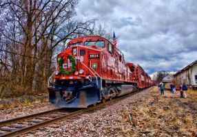 CP Rail Holiday Train 2009 by funygirl38