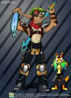 Jak and Daxter profile by LilyArt2006