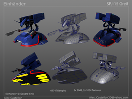 Einhander: SPJ-15 Greif Technical Specifics by Daowg