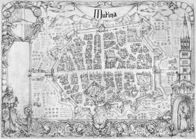 Ultima Forsan - Savage Worlds - Modena's Map by FrancescaBaerald
