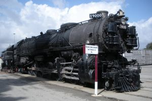 Union Pacific 4-12-2 No. 9000 by rlkitterman