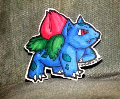 Pokemon Paper Dolls #002 - Ivysaur by SusieCurlyQ