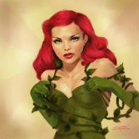 poison ivy pin-up by 7129n31