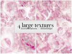 'Bubblegum' - Large Textures by 3constellations