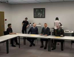 The Briefing Room. The Meeting. by V3Digitimes
