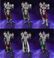 Heroes of the Storm: Sander - the Priest of Rathma by arcane-villain