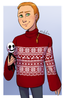 FNAF - Oversized Sweaters are Love (Advent #1) by Atlas-White