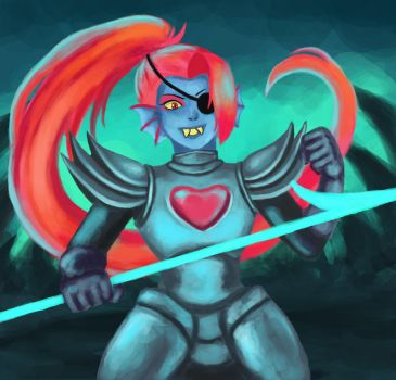 Undyne the undying by Masanohashi