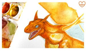 Charizard: a fire's caught in my throat by PokeShoppe