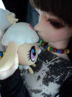 Her little lamb. by PudgyPlushie