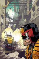 Judge Dredd by nelsondaniel