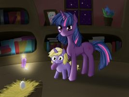 Late Night Practicing by v-invidia