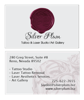 Silver Plum Businesscard Commish by KatieConfusion
