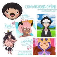 Commissions OPEN! [PROMO JUST 10 Slots] by Monstruonauta