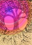 Colourful Tree by chewupablotter
