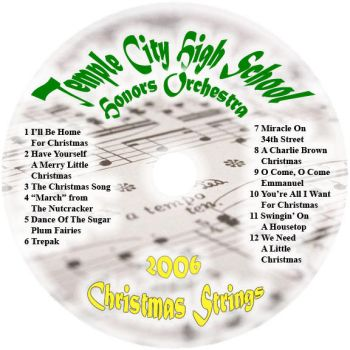 TCHS Christmas CD by skullboy79