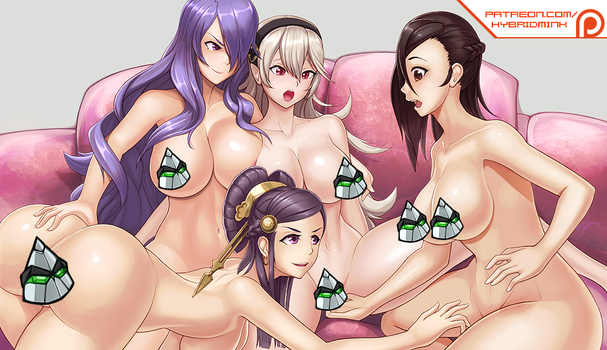 Fire Emblem Fates Yuri preview (NSFW) by hybridmink