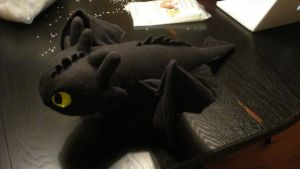 Toothless Plush by Caty-P-Boots