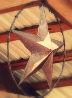 Rusty Texas Star by goggles8p