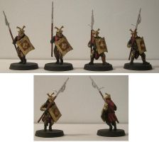 Easterling Spearmen by Bladefinger