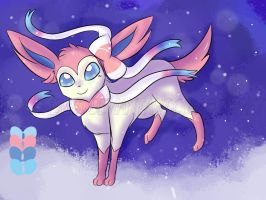 Sylveon - Lumi by Nightshade-Galaxy