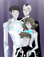 Tron - Family Portrait by liliy