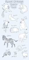 Animal Sketch Dump! by MNGengar