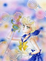 Sailor Uranus and her Talisman by ladymadge