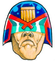 Dredd Head 1997 by Rustyoldtown