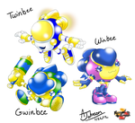 My Twinbee Winbee and Gwinbee by KohakuKun19