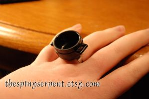 Snape's Cauldron Ring by kittykat01