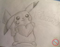 Pikachu loves you!! by shadowhatesomochao