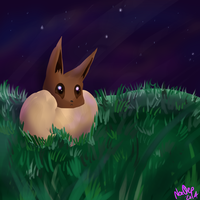 Eevee Speedpaint by NoaQep