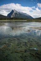 Mt Rundle by nalhcal