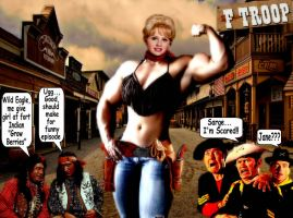 R.I.P. Melody 'Wrangler Jane' Patterson 1949-2015 by 04Brutale