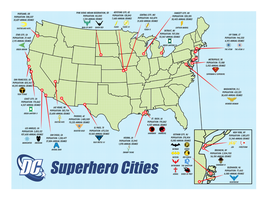 DC Superhero Cities by BatmanBrony