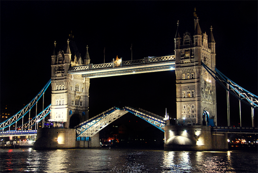 The Tower Bridge at Night by Ana-D
