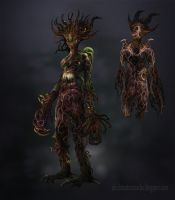 Dryad by lavam00