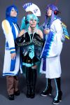 Vocaloid team by HaruhiK