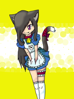Cat Girl owo by Riaka-the-Cat