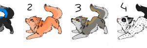 10 points wolf adoptables by RIOPerla