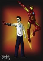 The Truth is...I AM Iron Man by cardinalbiggles
