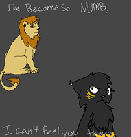 I'VE BECOME SO NUMB by Anonymous-Kuro